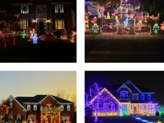 Ashburn holiday lights